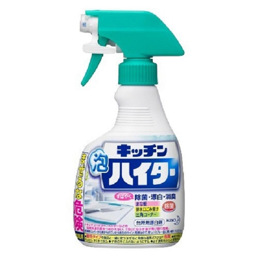 日本【花王kao】廚房 泡沫清潔劑 漂白劑 除菌 400ml