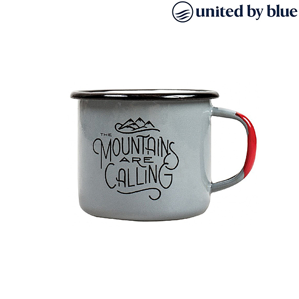 United by Blue 琺瑯馬克杯 12oz / (保溫、琺瑯、溫冷飲、旅行、馬克杯)