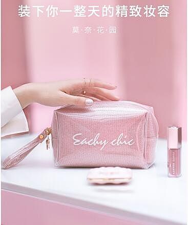化妝包 女便攜ins風超火收納包可愛日系韓國化妝袋小號隨身 艾維朵