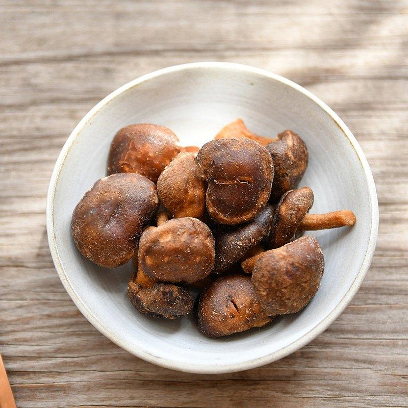 【高宏顆顆香】休閒即食鮮蔬系列-黑鑽脆菇(香菇酥) 100g/袋