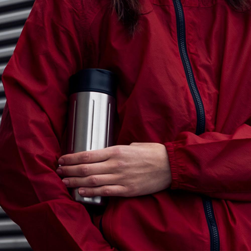 瑞士百年SIGG   晶燦保溫隨身杯 - 鋼霧銀 470ml