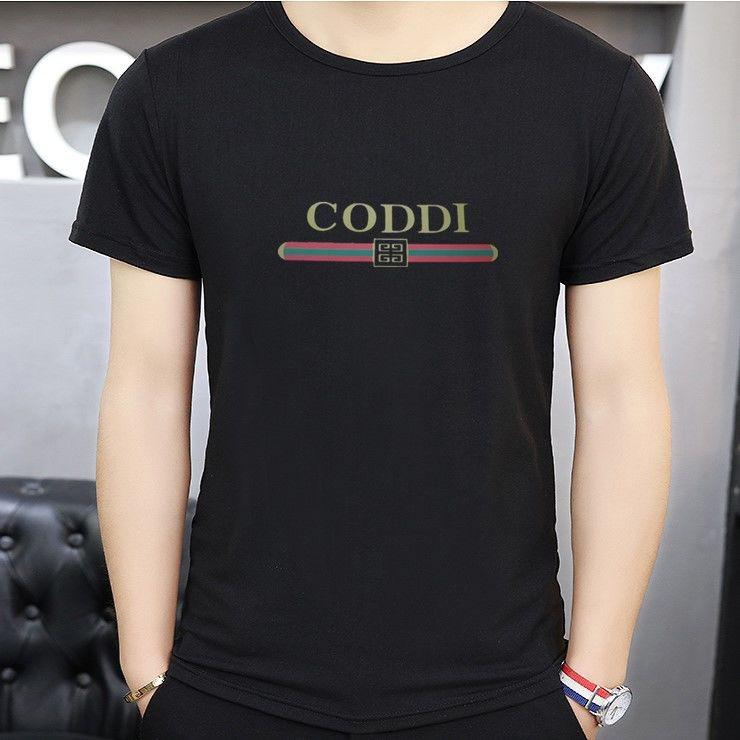 大碼青少年短袖t恤男士學生修身短T潮流韓版打底衫男人純色半袖短t