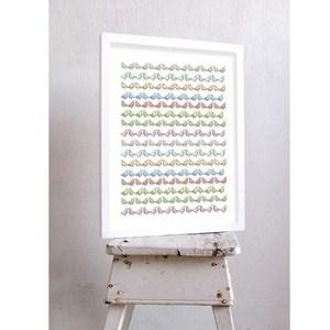 【摩達客】西班牙知名插畫家Judy Kaufmann藝術創作海報版畫掛畫裝飾畫-小小鳥