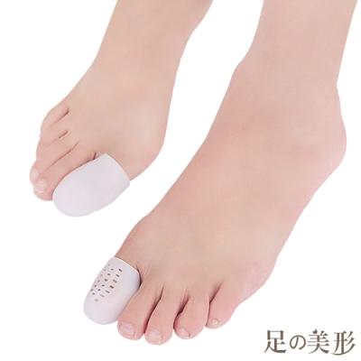 任選-足的美形 頂級矽膠閉口大拇趾保護套 (1雙)