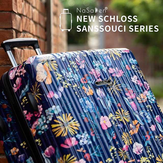 【NaSaDen 納莎登】新無憂系列 X 波麗聯名限量29吋行李箱-琉璃紺