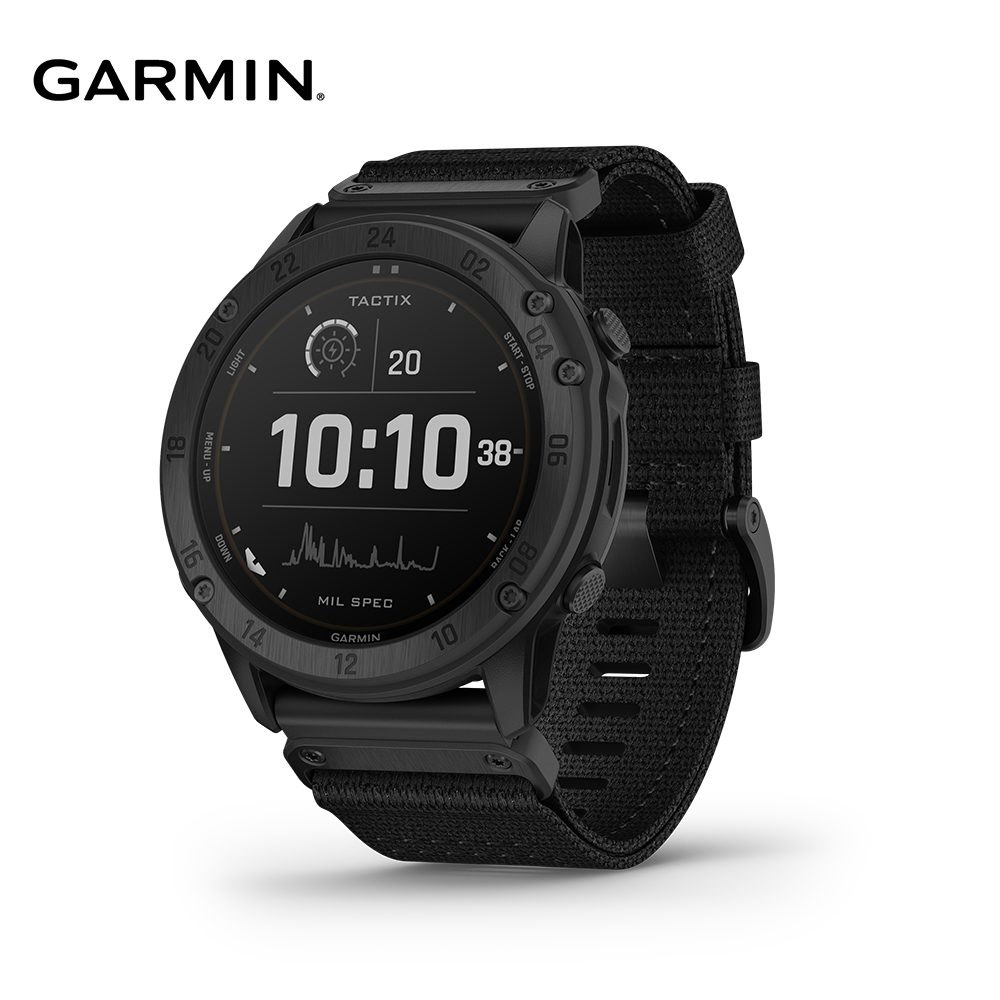 GARMIN Tactix Delta 太陽能複合式戰術GPS腕錶 010-02357-32