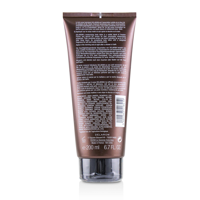 DELAROM - 柔滑保濕身體乳液 - 所有膚質與敏感肌膚