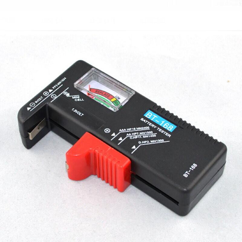 dn334電池測試表 指針測電器 3號4號9v紐扣水銀電池檢測器 電池測試儀 測電