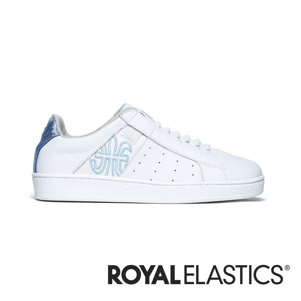 Royal Elastics Icon Genesis 藍白真皮運動休閒鞋 (女) 91901-500