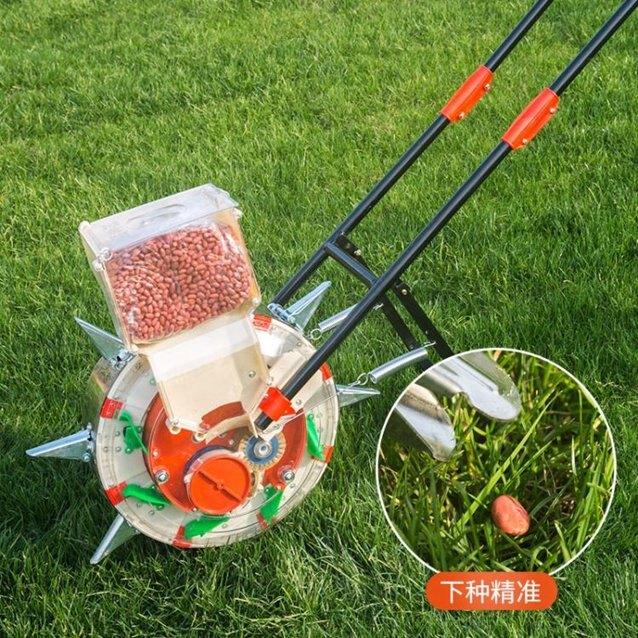 播種機 多功能手推式玉米棉花大豆花生精播機小麥播種器 家 秋冬新品特惠