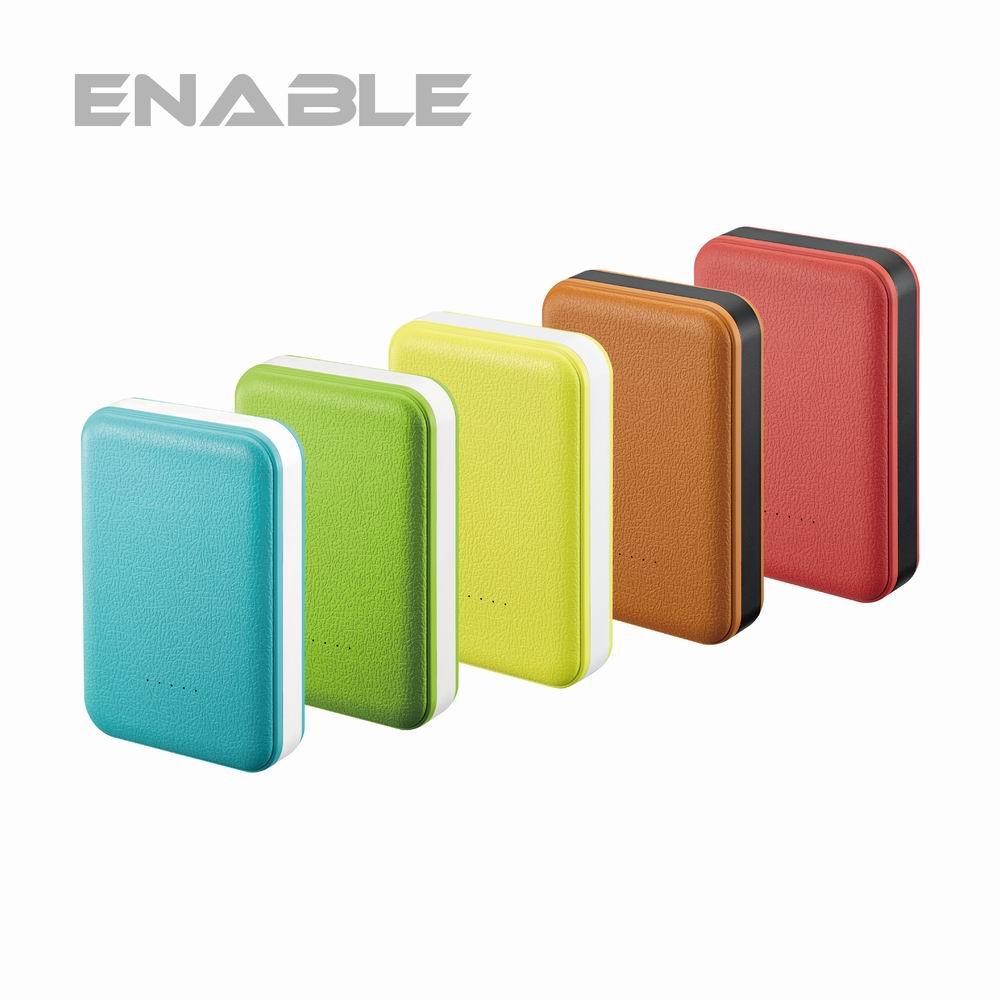 【台灣製造】ENABLE Note X4 10050mAh 類皮革 雙USB快充行動電源