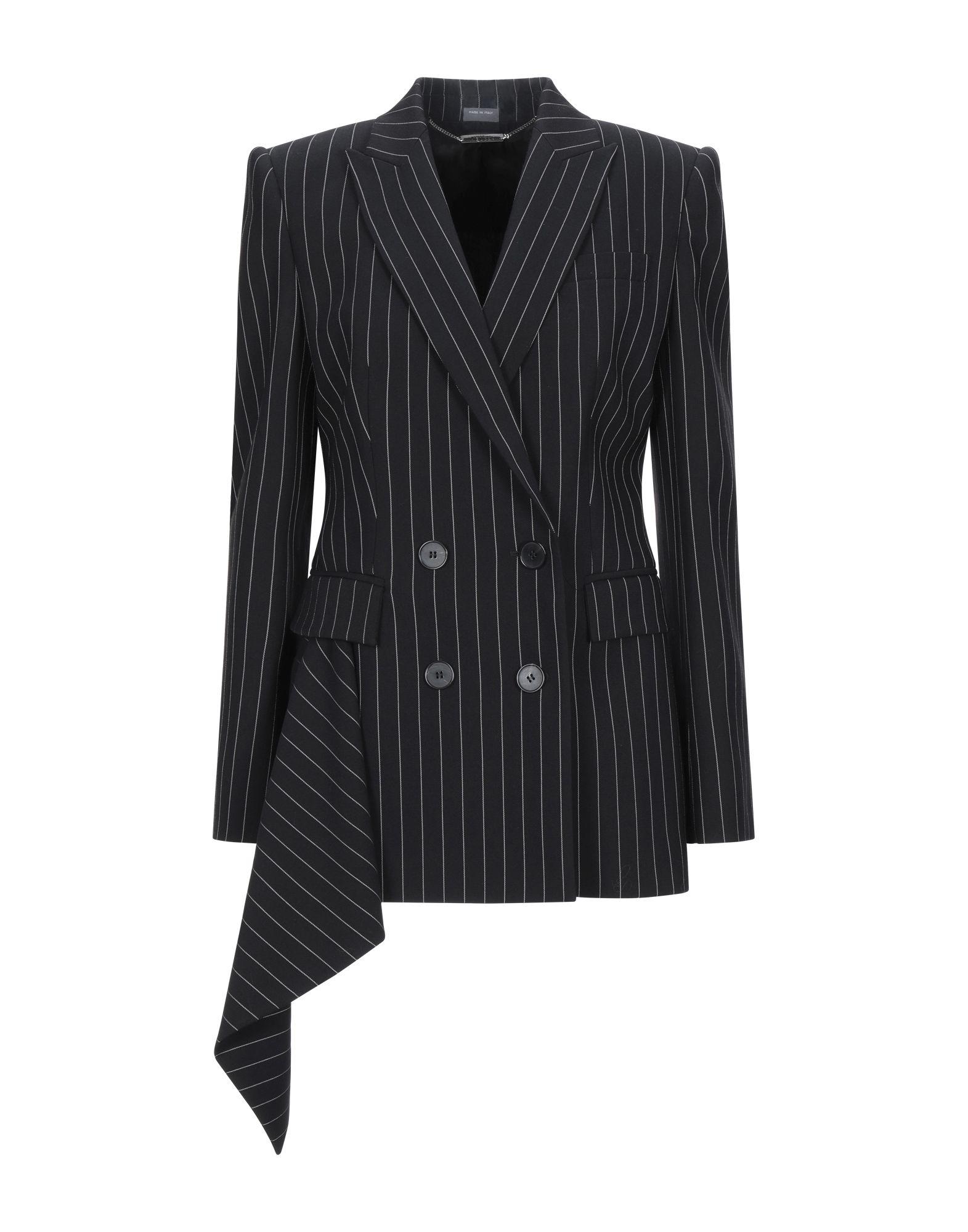ALEXANDER MCQUEEN Suit jackets - Item 49579168