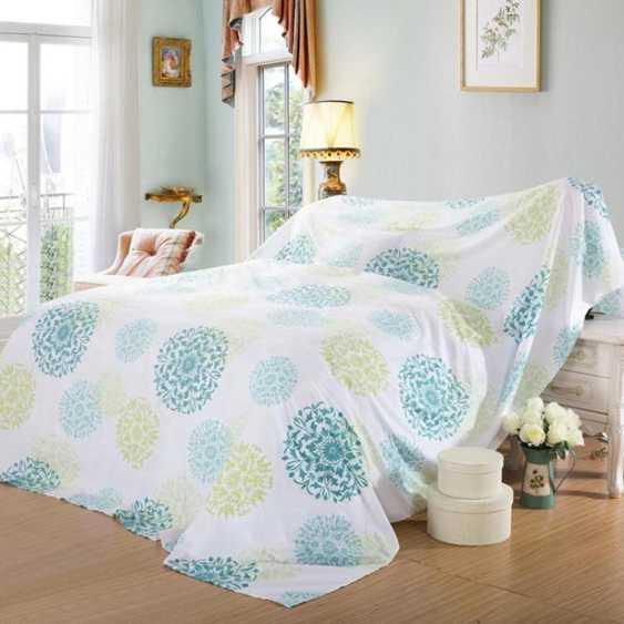 床防塵罩家具防塵布蓋布遮蓋布蓋沙發的防塵布料大擋灰布罩蓋床的防塵罩