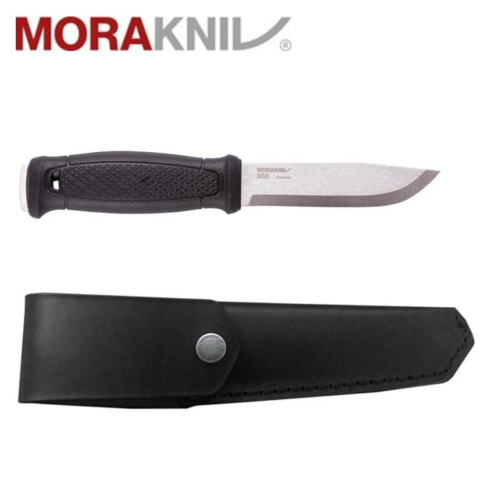 Morakniv 全龍骨不銹鋼直刀/露營小刀/皮革護套 Garberg 瑞典製 12635