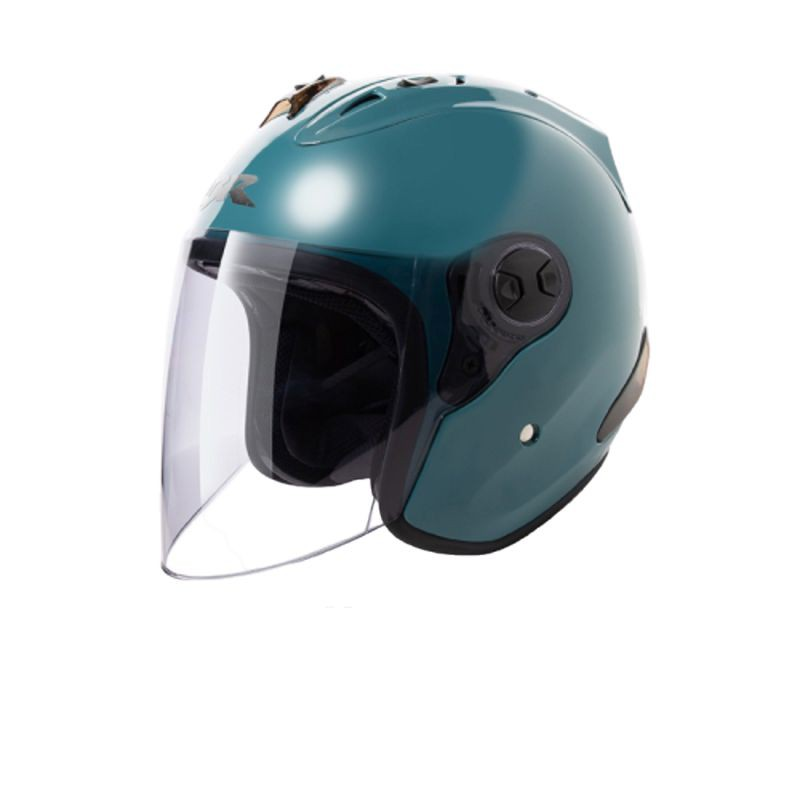CBR 安全帽 S70 R4 藍灰綠 R帽 全可拆洗 3/4罩 半罩 安全帽【淘帽屋 送10%蝦幣回饋】