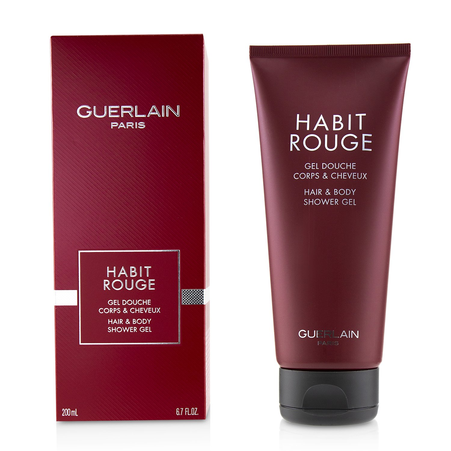 嬌蘭 Guerlain - Habit Rouge 滿堂紅洗髮沐浴露 Habit Rouge All-Over Shampoo