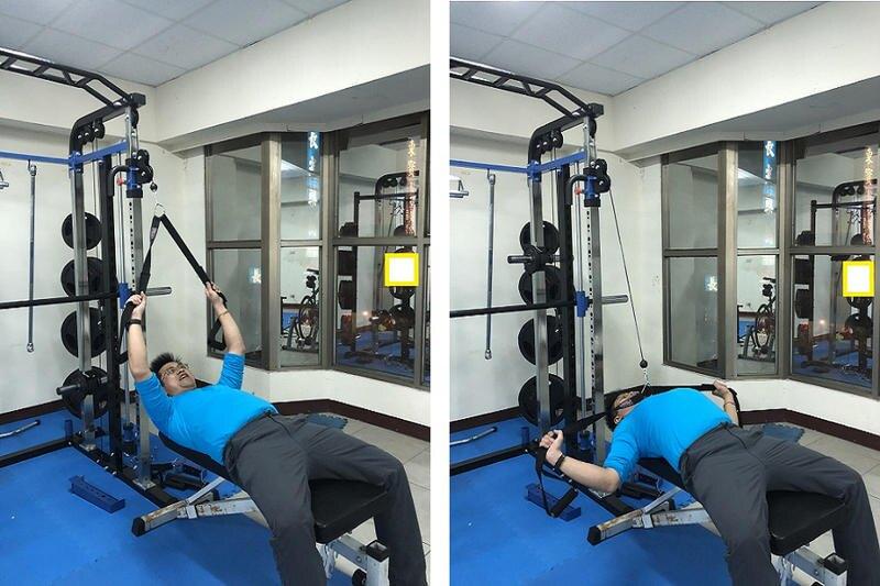 多功能綜合健身訓練帶/腹肌訓練帶/重量訓練帶/飛鳥交叉訓練帶/大飛鳥訓練帶/龍門架拉力帶配件【Fitek健身網】