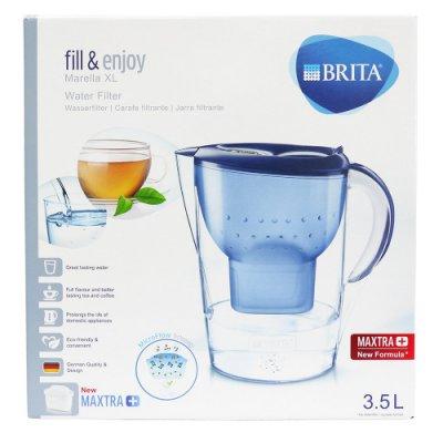 德國原裝BRITA Marella XL馬利拉3.5L 濾水壺(1壺1芯) 藍/白2色