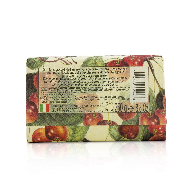 那是堤 Nesti Dante - 天然鮮果系列 黑櫻桃紅莓果皂