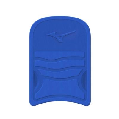 MIZUNO SWIM浮板-台灣製 助泳板 戲水 游泳 訓練 輕量 美津濃 N3TB801022 藍黃