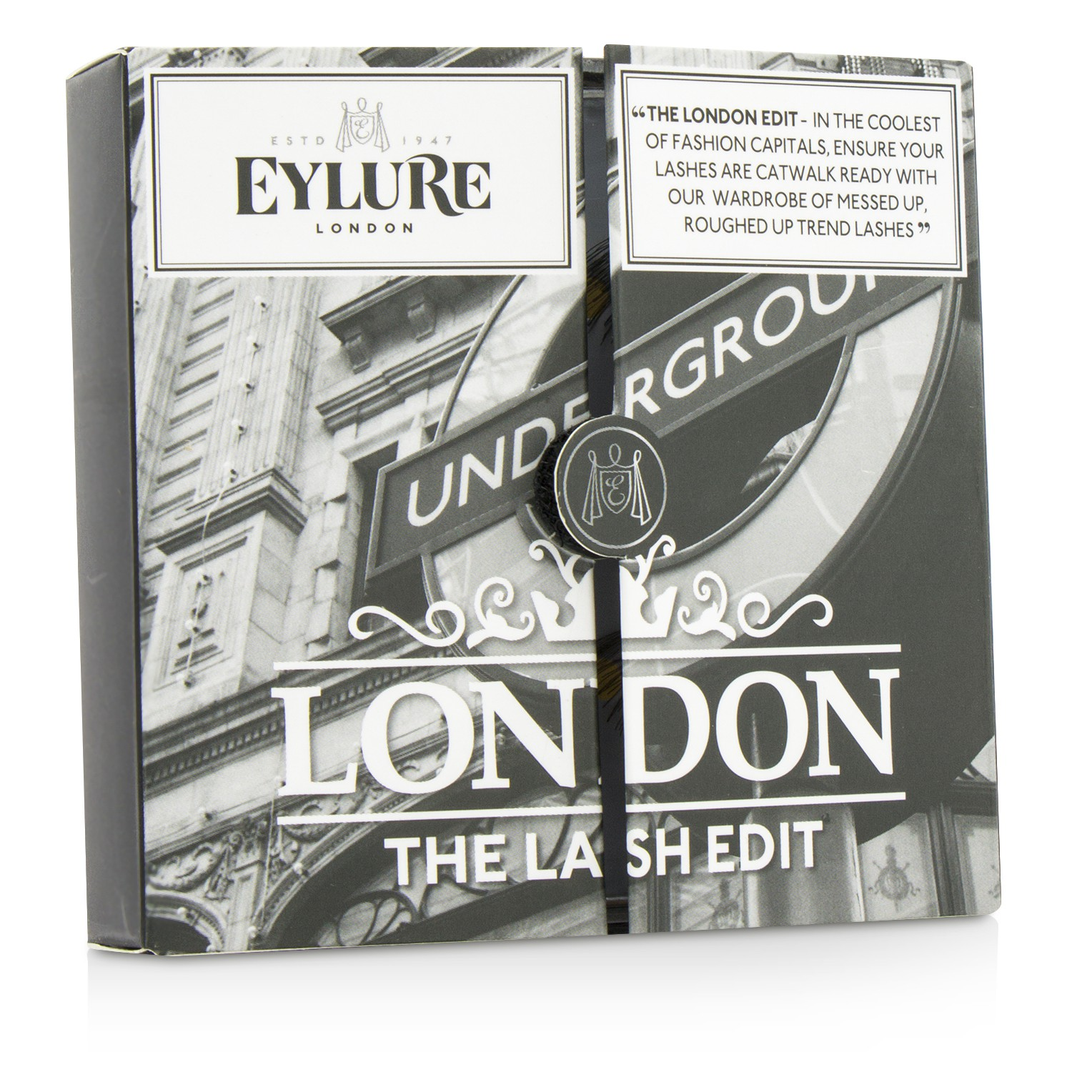 愛潞兒 Eylure - 假睫毛萬用包 The London Edit False Lashes Multipack