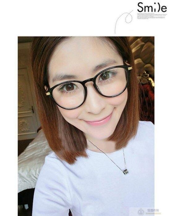 【新復古圓形平光眼鏡】AP1321 送眼鏡袋 近視眼鏡框 小清新 鏡框 圓 眼鏡架 可愛圓框眼鏡框 眼鏡架【狂麥市集】
