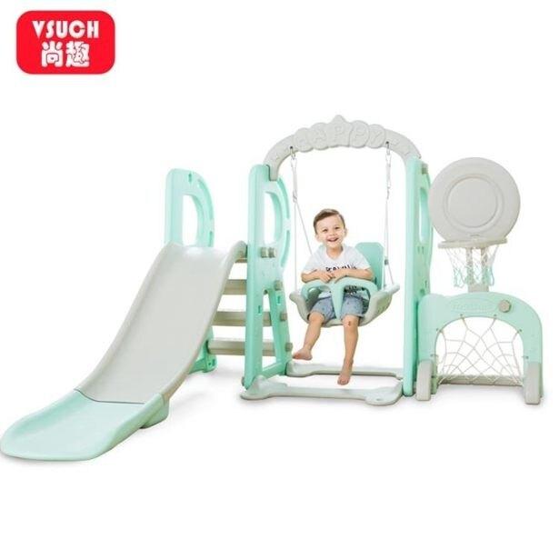 溜滑梯兒童室內滑梯多功能家用寶寶滑滑梯組合幼兒園秋千健身大型玩具全館免運限時優惠