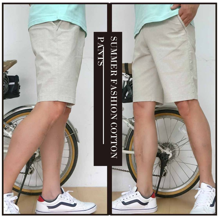 【大盤大】(A659) 男短褲 M-3XL 花紋休閒褲 米白 五分褲 口袋工作褲 戶外運動 旅遊 潮褲 時尚 有大尺寸