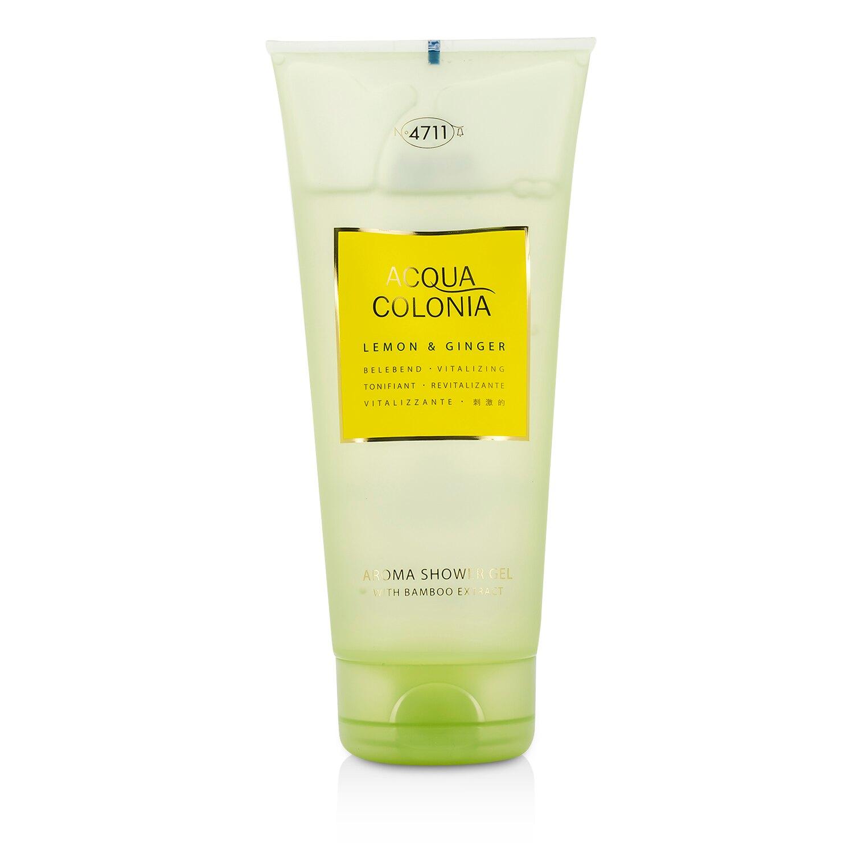 4711 - 科隆之水 檸檬&生薑沐浴凝膠Acqua Colonia Lemon & Ginger Aroma Shower Gel