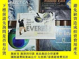 二手書博民逛書店National罕見Geographic國家地理雜誌地圖系列之2