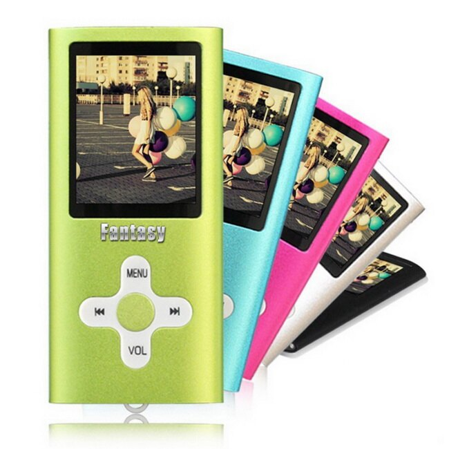 【B1824】Fantasy 十字款插卡式1.8吋彩色螢幕 MP4隨身聽(加8G記憶卡)(送6大好禮)
