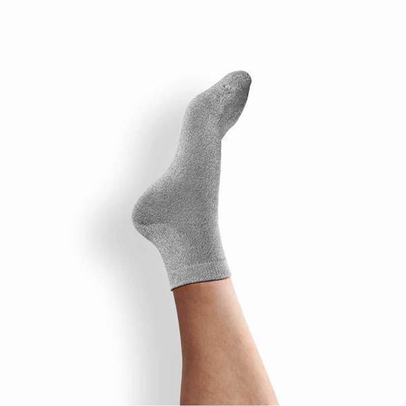 10 倍透氣日本工藝和紙襪 - 大尺寸 (共4色) 雪花黑