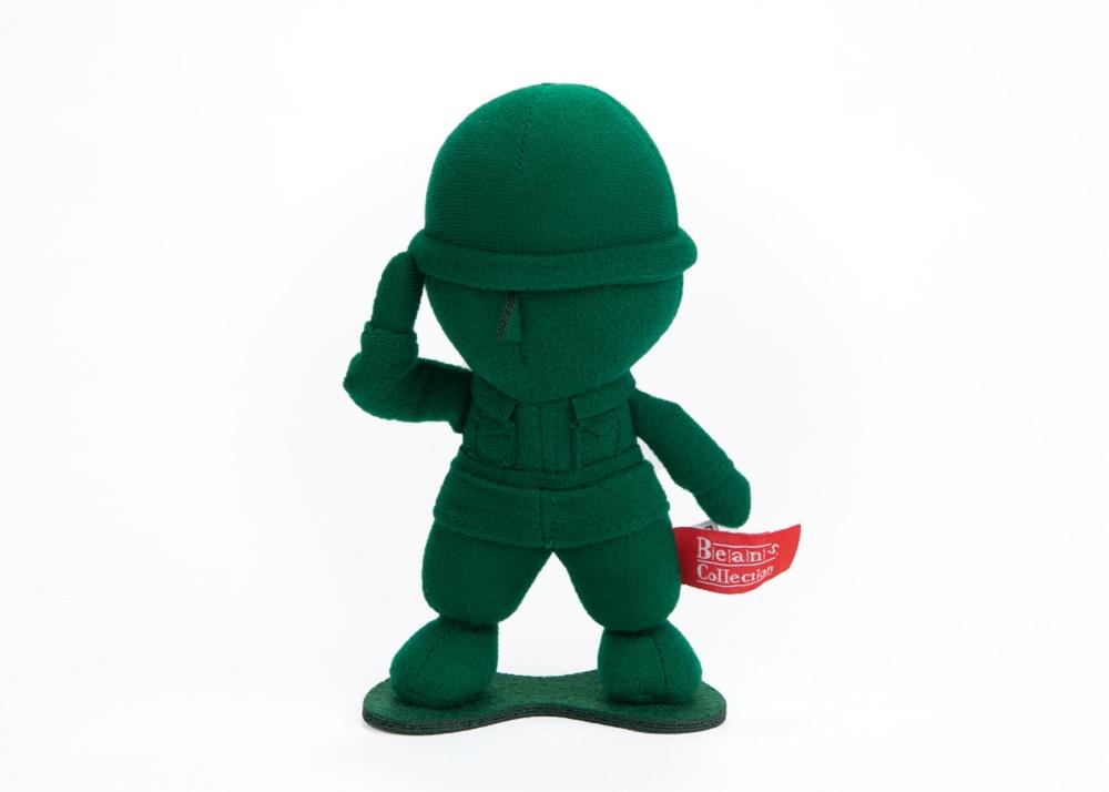 豆豆絨毛-綠兵