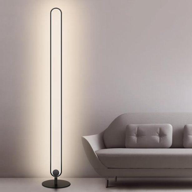 現代簡約客廳落地燈臥室床頭台燈LED創意個性北歐立式燈具全館免運限時優惠