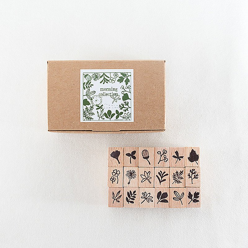 夏米花園 Chamilgarden原創木質印章組 - material ( MTS-CH231 )