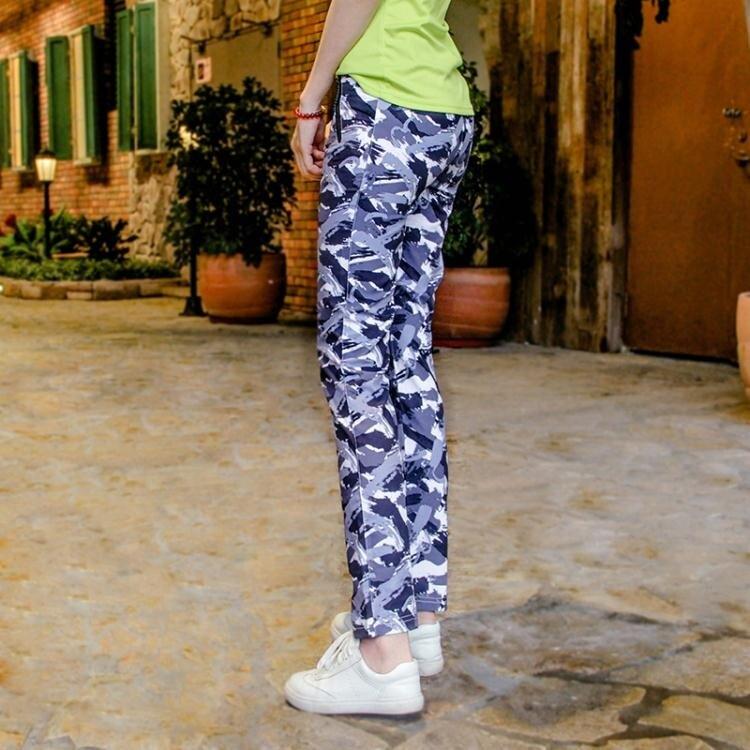 速幹褲女 戶外登山徒步輕薄迷彩快干褲彈力耐磨透氣速幹褲女 概念3C