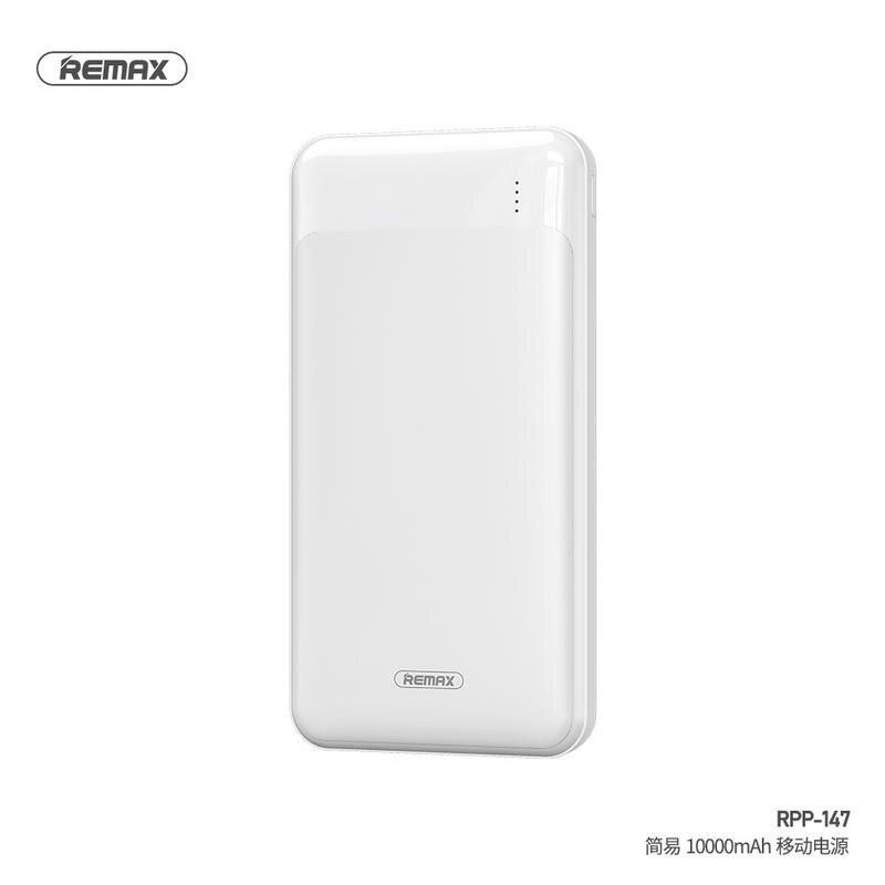 REMAX RPP-147 簡易行動電源10000mAh USB輸出 MICRO輸入 TYPEC輸入 正版台灣公司貨