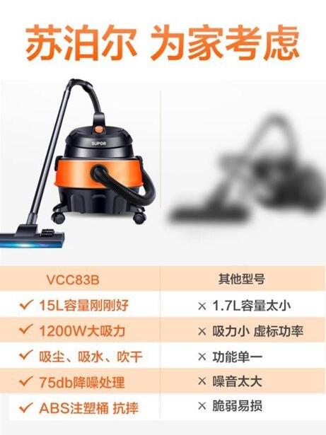 吸塵器家用小型手持式大吸力強力靜音大功率工業除?吸塵機全館免運限時優惠