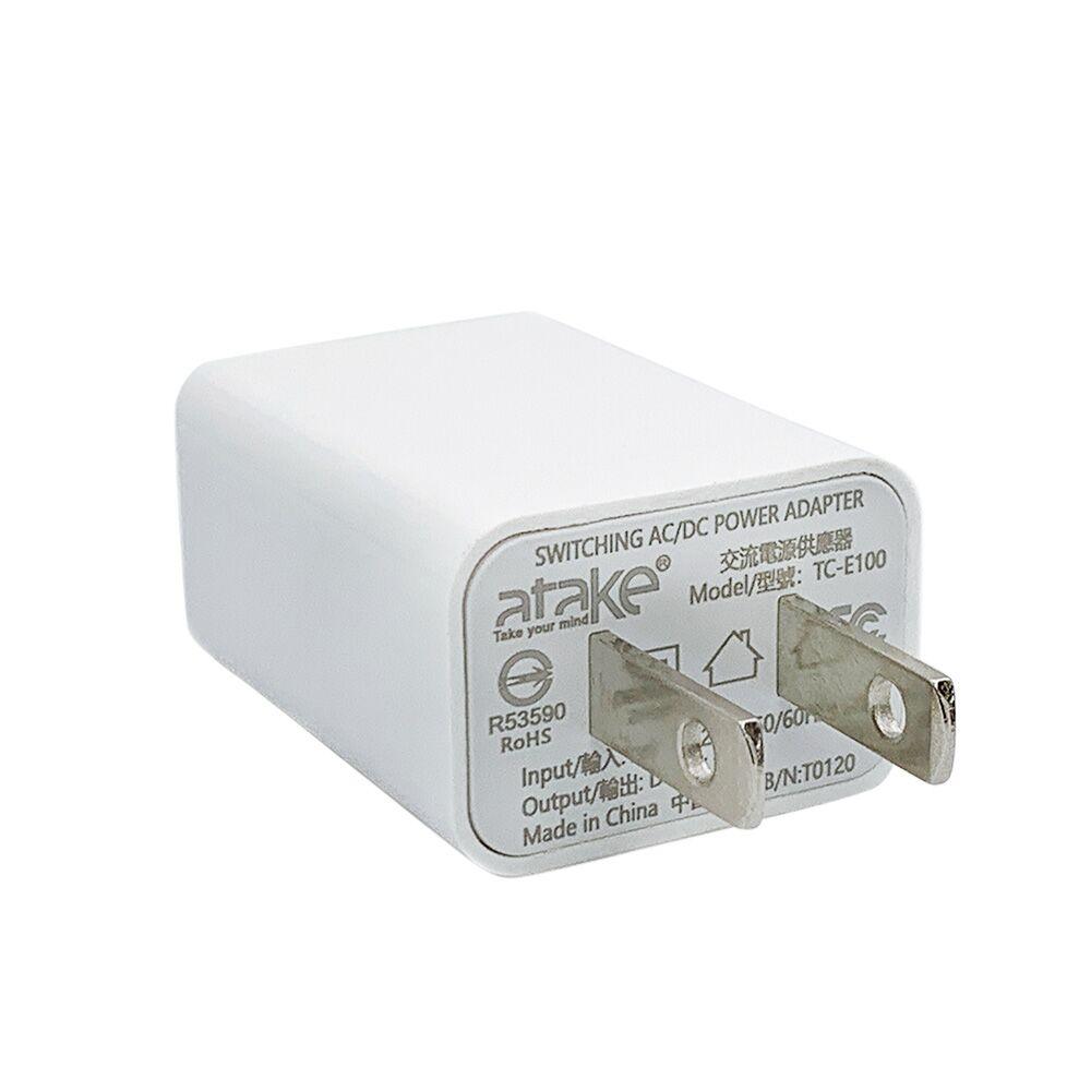 【ATake】AC電源轉USB電源轉接頭 SAC-USB1A01-PX