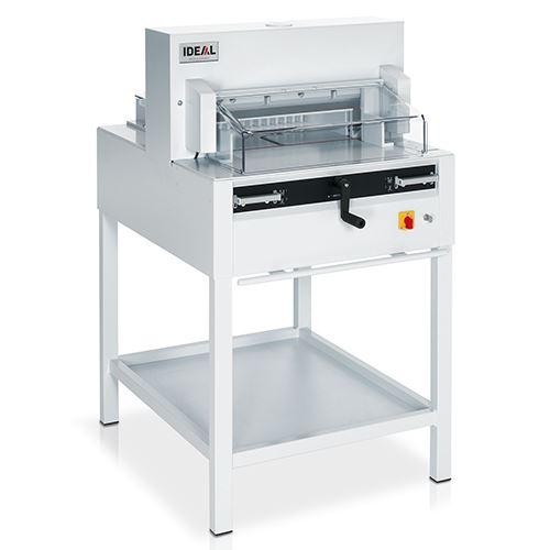 【IDEAL】4850  電動 裁紙器 修邊刀 手搖+安全罩 (800張)  / 台
