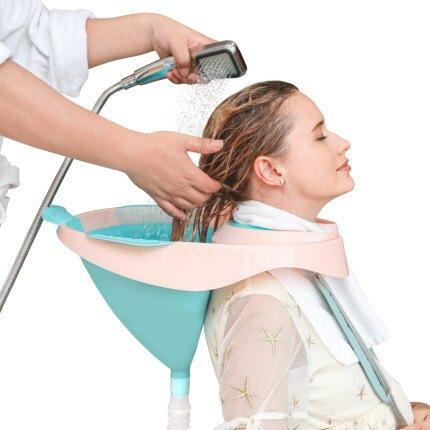 成人兒童通用仰視洗頭神器家用大人月子孕婦洗頭躺椅式洗頭盆