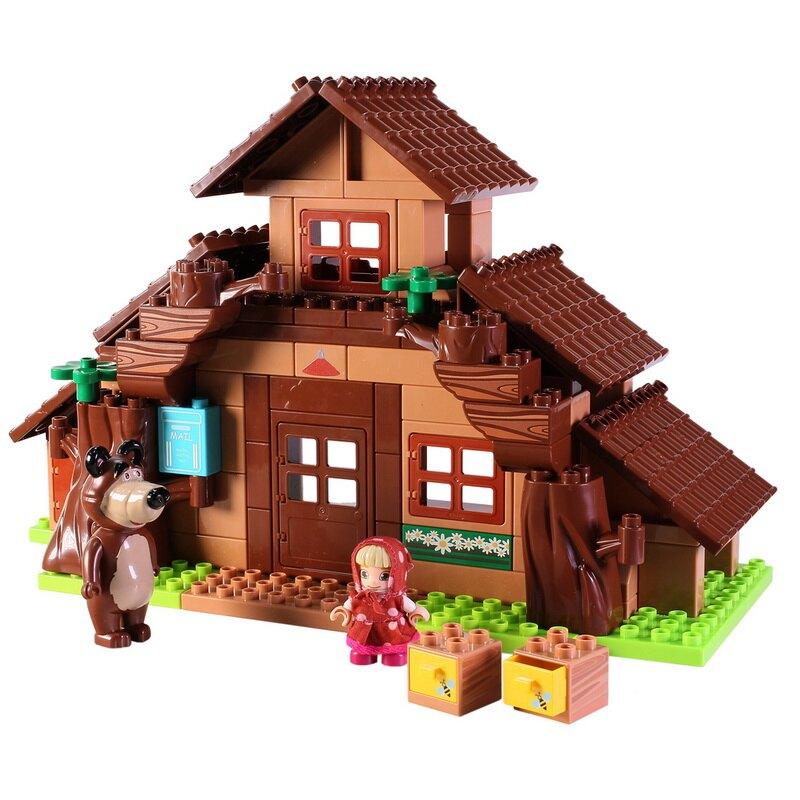 【瑪莎與熊】熊的家--113件組
