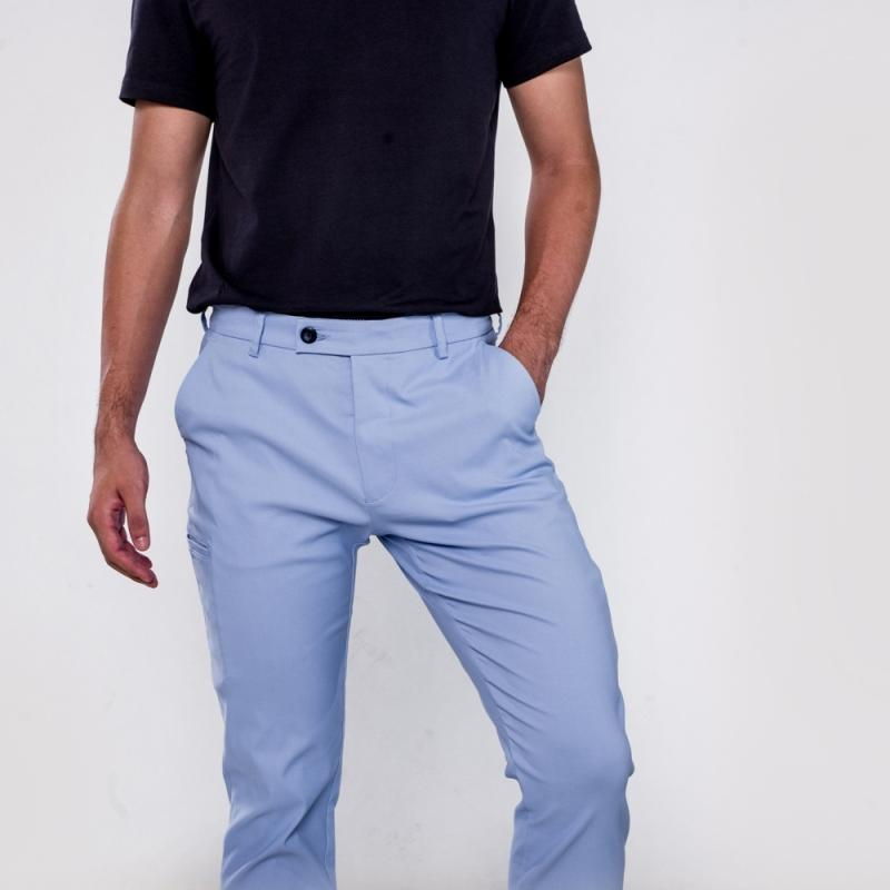 曼哈頓八口袋商旅紳士褲 瑪雅藍 尺碼 40