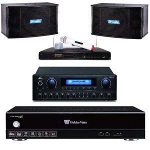 金嗓A5伴唱機4TB+擴大機+無線麥克風+主喇叭