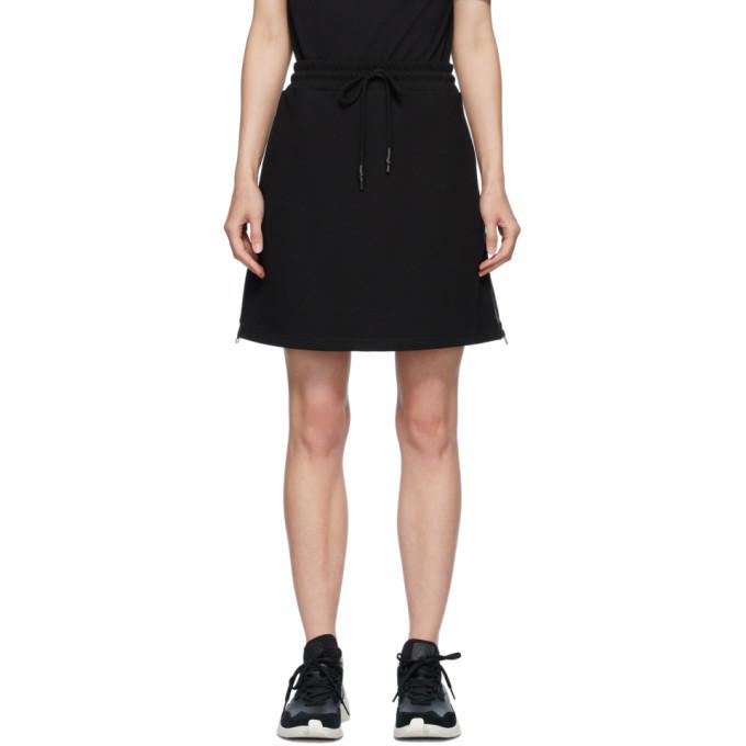 McQ Alexander McQueen 黑色 McQ Swallow 徽标贴带短裙