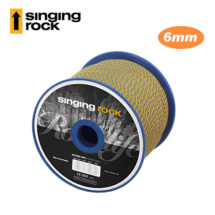 【客製商品】Singing Rock 6mm輔助繩 Accessory Cord L0061 (1公尺) / 城市綠洲(捷克品牌.多用途.繩索)