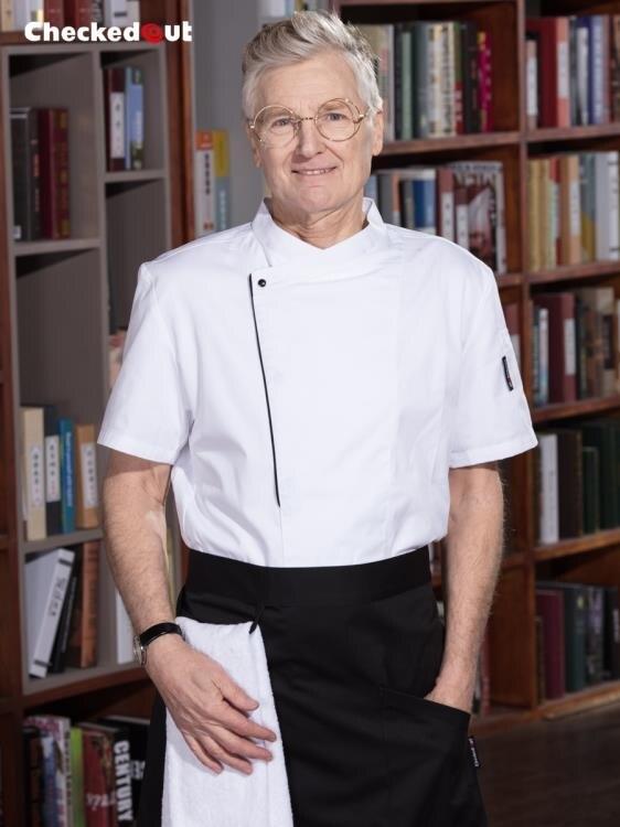 廚師工作服男短袖廚房工作制服廚衣西餐廳飯店後廚廚師服長袖夏季 概念3C