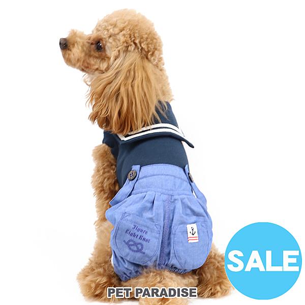 【PET PARADISE 寵物精品】Field Glide 海軍牛仔連身褲/藍 (3S/DSS/SS/DS/S) 寵物衣服