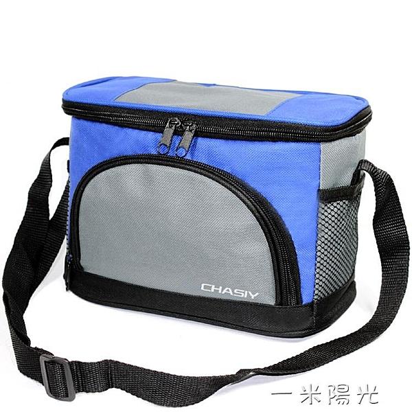 折疊加厚帶飯手提包牛津布飯盒袋小號防水便當包保溫袋學生午餐包  聖誕節免運