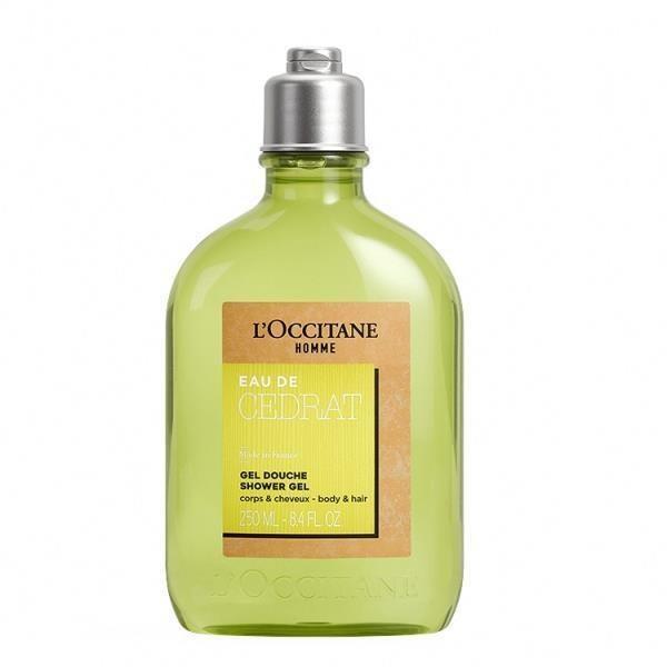 【L'occitane 歐舒丹】都會男士雙效沐浴膠250ml